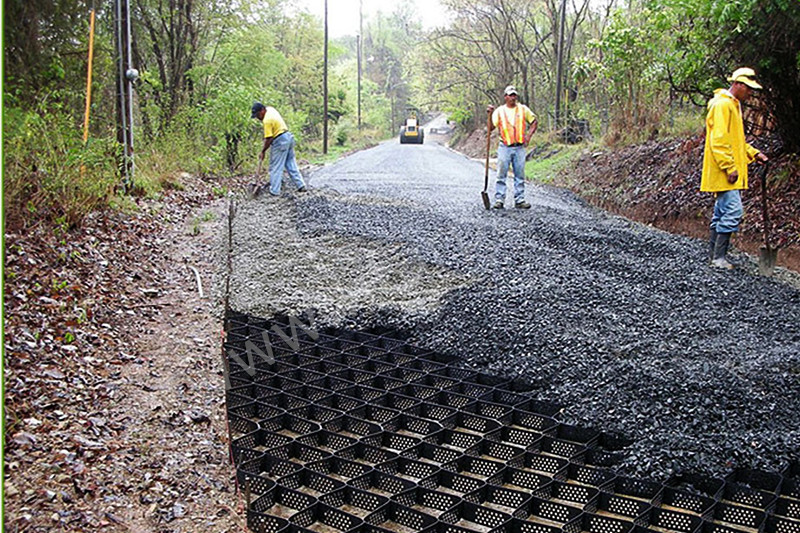 Geocell To Stable The Roadbed Of Highroad Tarpaulin